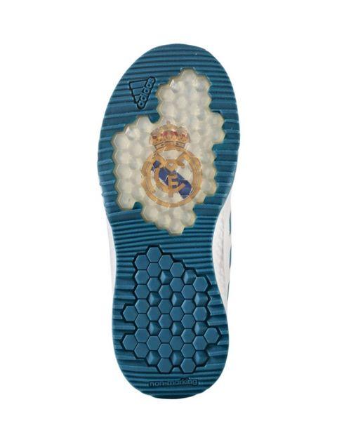 کفش فوتبال بندی پسرانه RapidaTurf Real Madrid - آدیداس - سفيد - 2