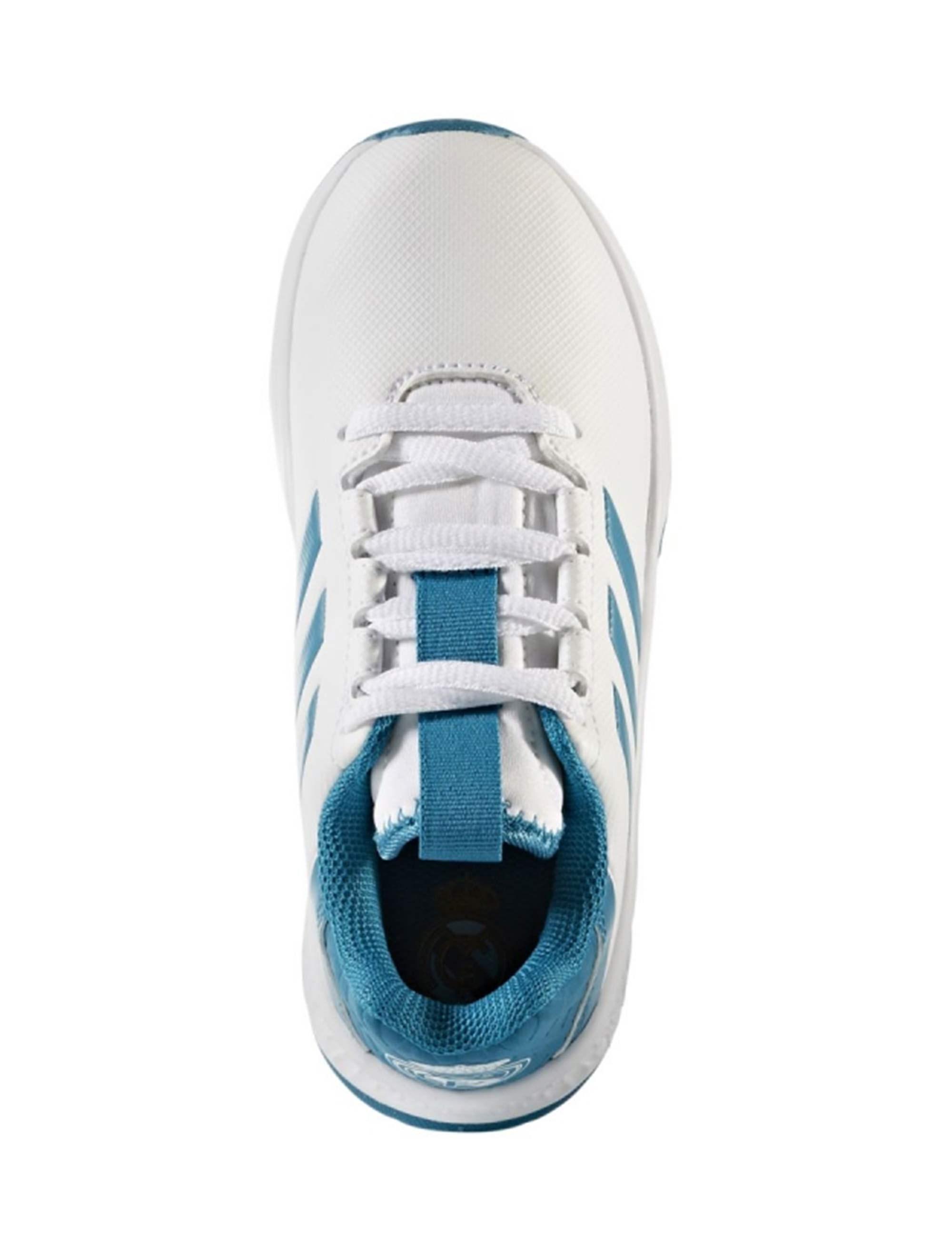کفش فوتبال بندی پسرانه RapidaTurf Real Madrid - آدیداس - سفيد - 3