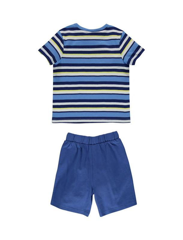 تی شرت و شلوارک نخی نوزادی پسرانه - ارکسترا