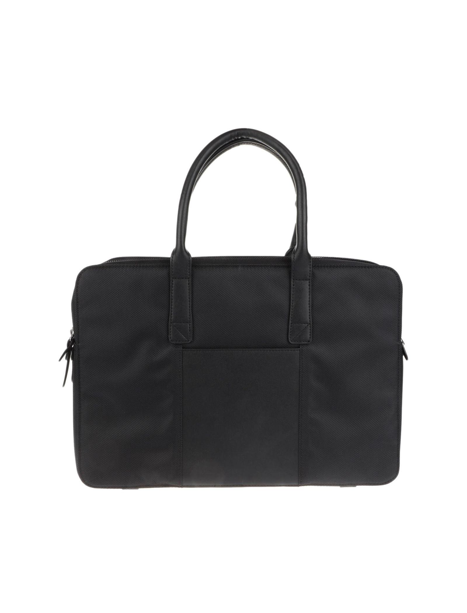 کیف دوشی روزمره مردانه - مانگو - مشکي - 1