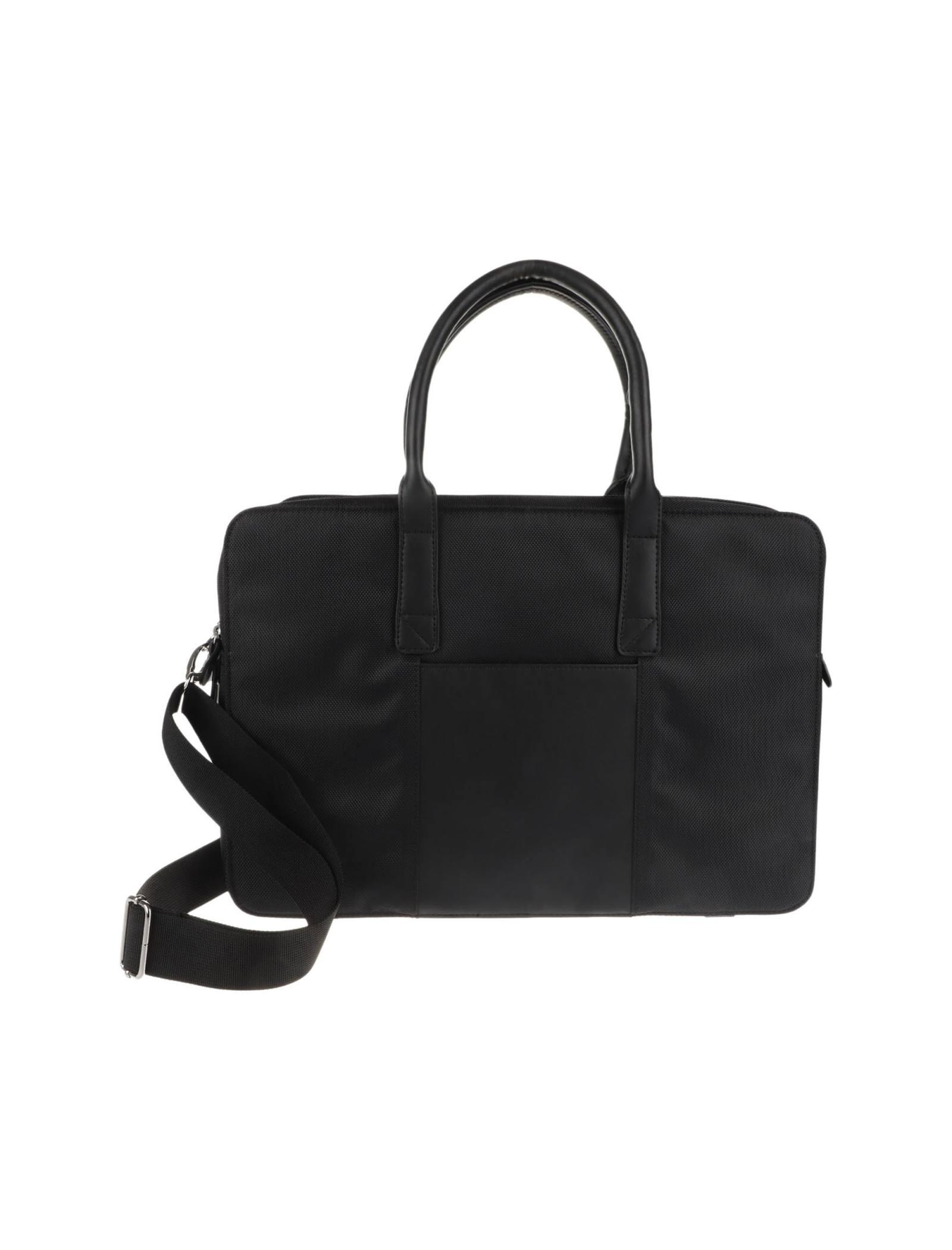 کیف دوشی روزمره مردانه - مانگو - مشکي - 3