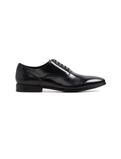کفش رسمی چرم مردانه - مشکي - 1