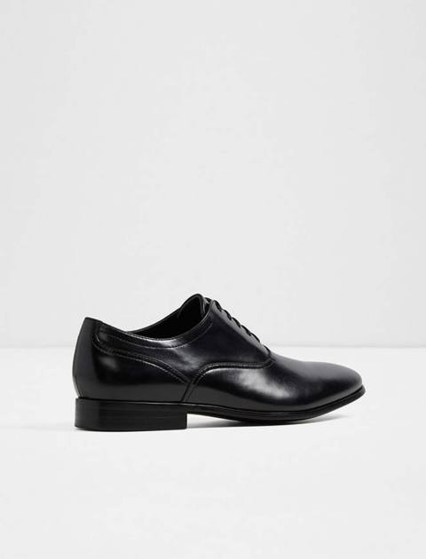 کفش رسمی چرم مردانه - مشکي - 2