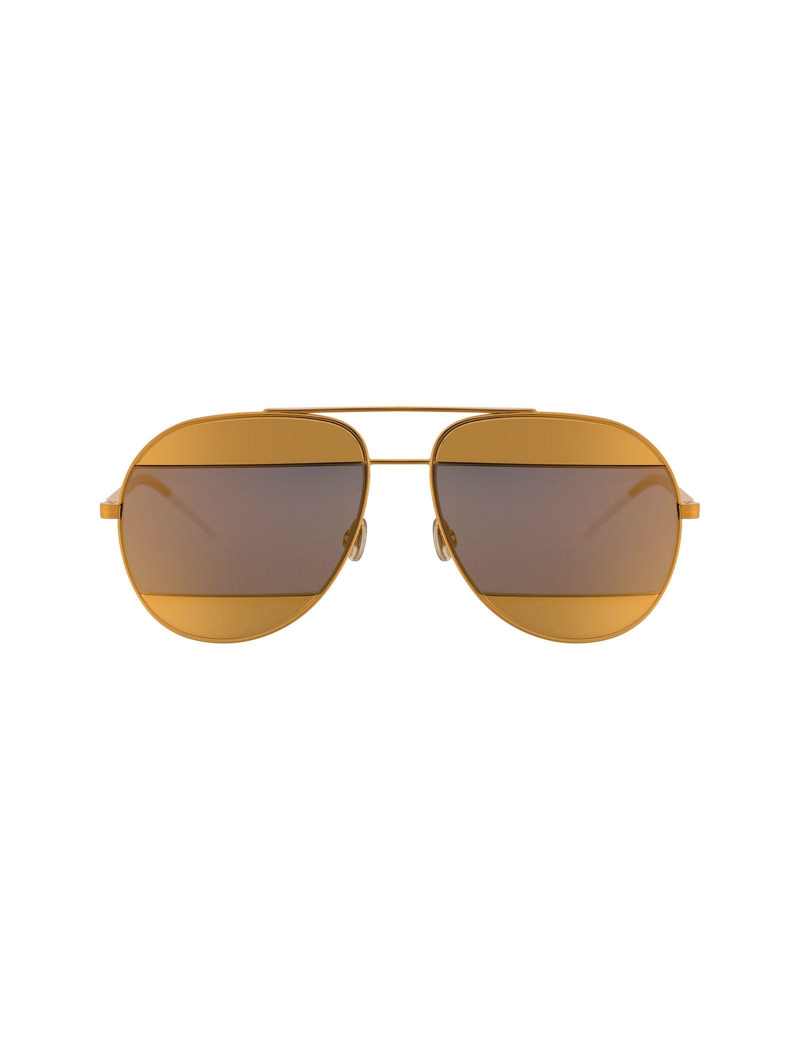 عینک آفتابی خلبانی زنانه - دیور - طلايي  - 1