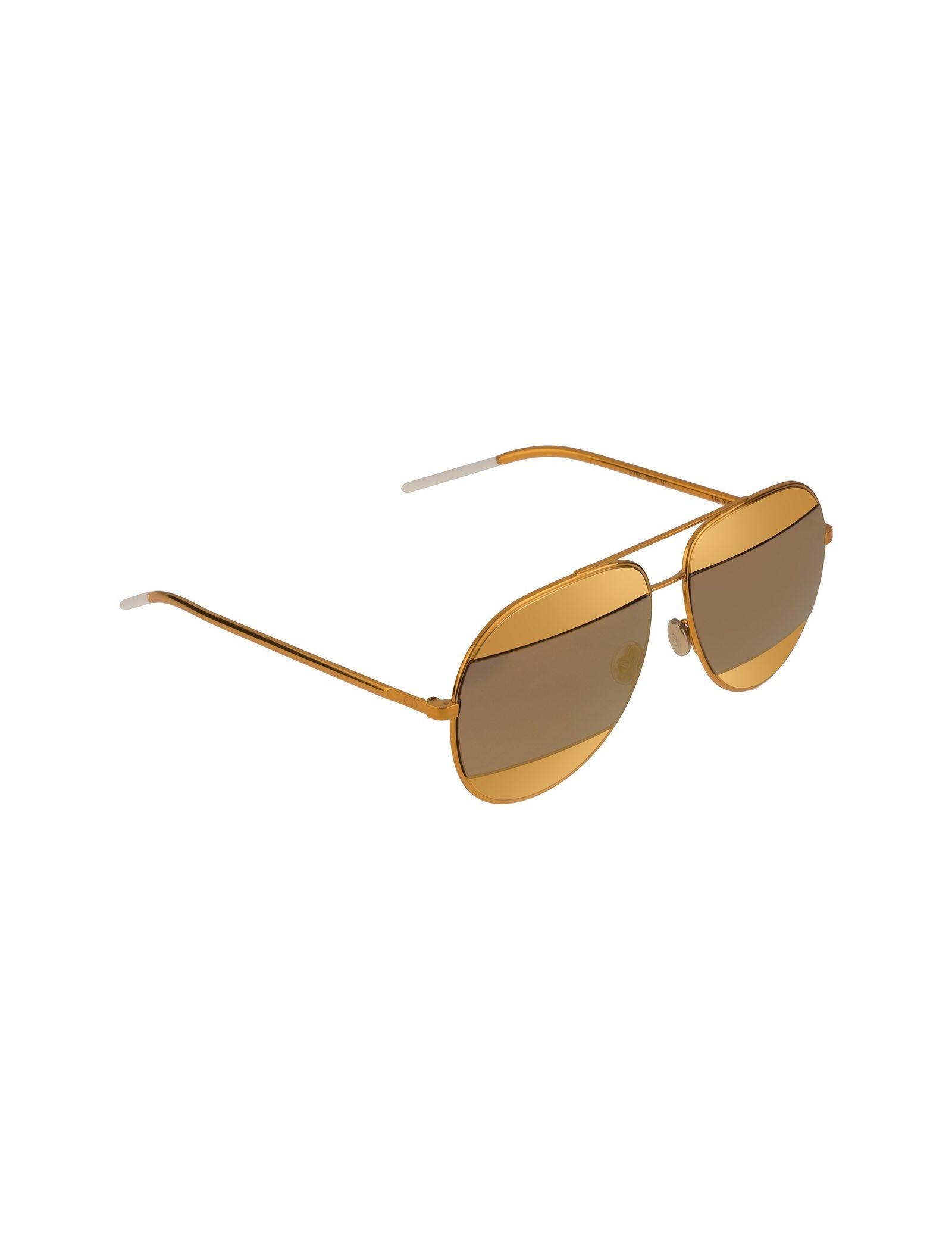 عینک آفتابی خلبانی زنانه - دیور - طلايي  - 2