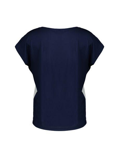 تی شرت یقه گرد زنانه - سفيد - 3