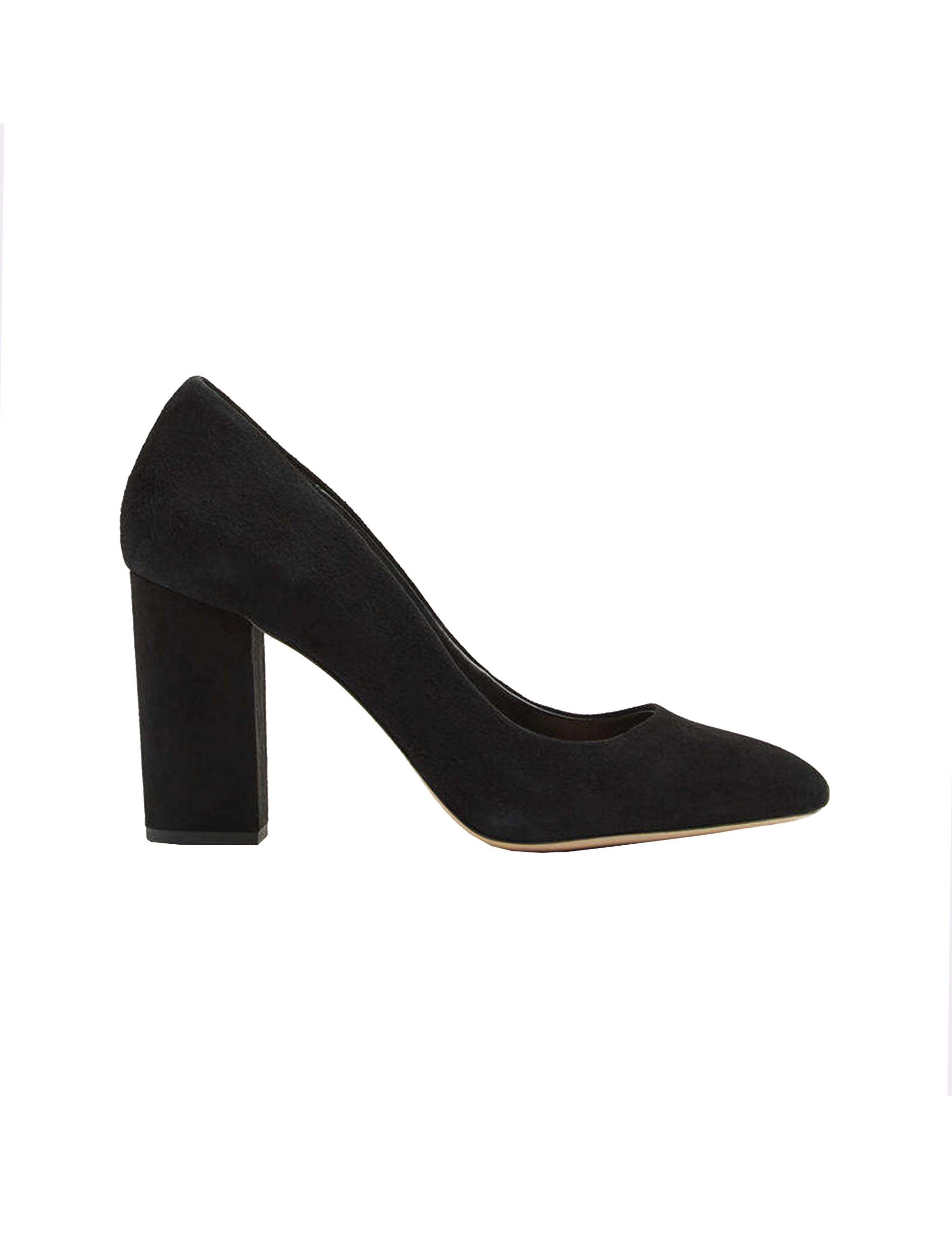 کفش پاشنه بلند جیر زنانه - مشکي - 1