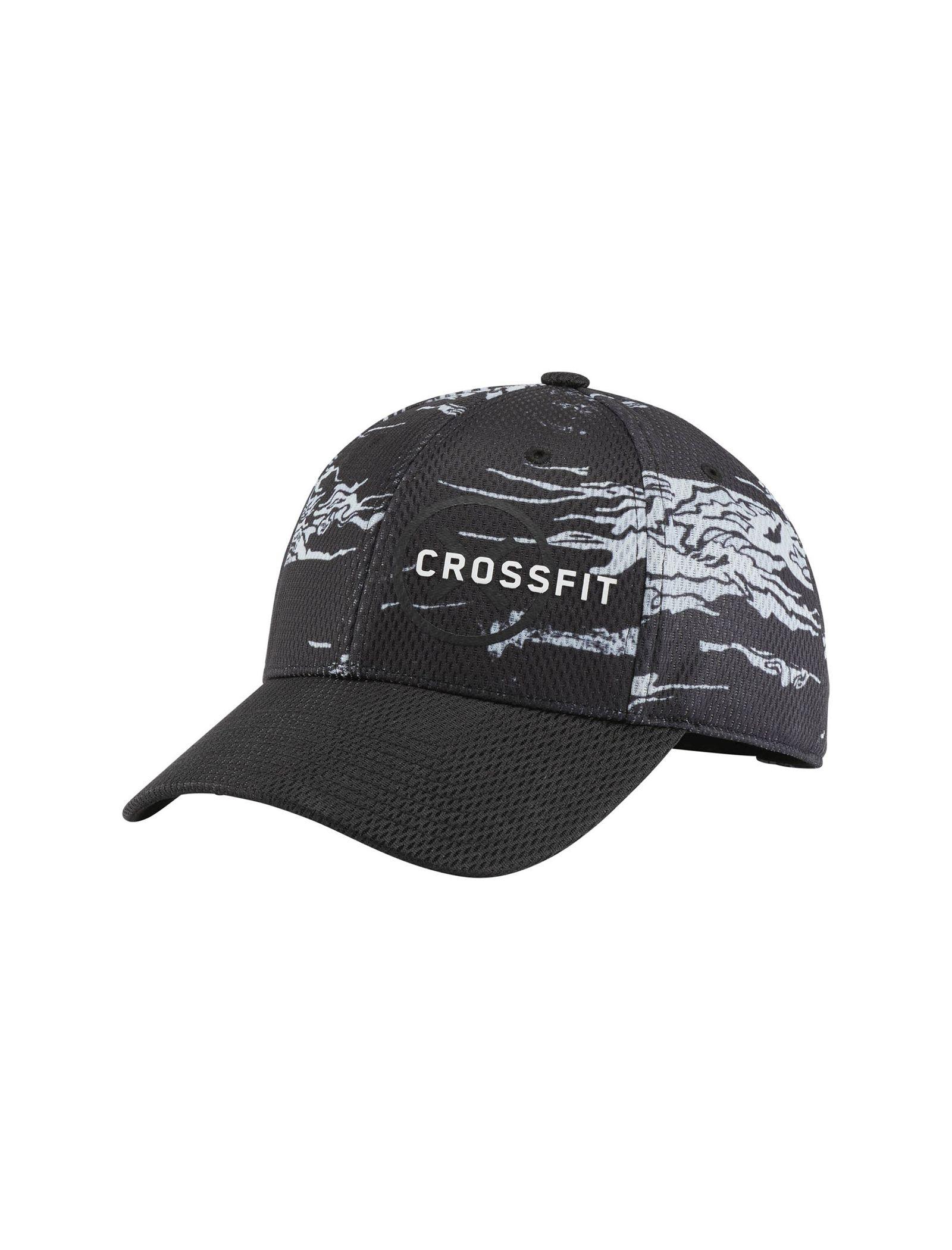 کپ ورزشی مردانه CrossFit Baseball - ریباک - مشکي و سفيد - 1
