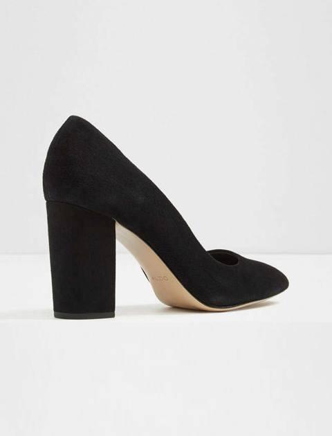 کفش پاشنه بلند جیر زنانه - مشکي - 3