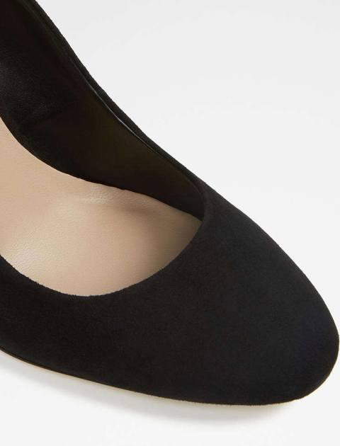 کفش پاشنه بلند جیر زنانه - مشکي - 4