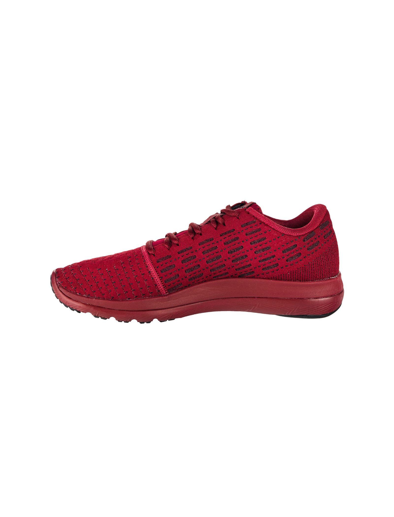 کفش دویدن بندی مردانه Threadborne Slingflex - آندر آرمور - زرشکي - 2