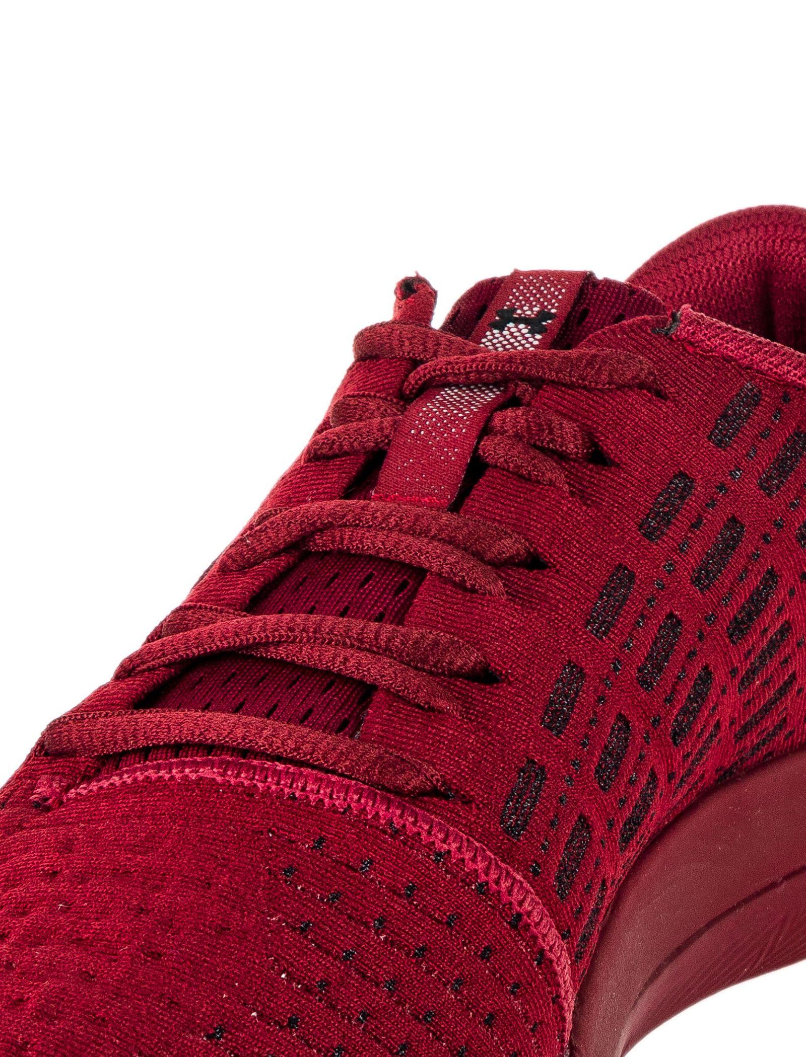 کفش دویدن بندی مردانه Threadborne Slingflex - آندر آرمور - زرشکي - 3