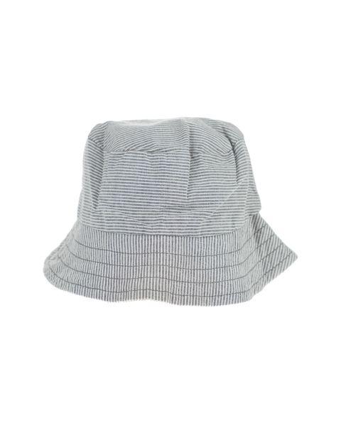 کلاه نخی طرح دار نوزادی - طوسي - 3