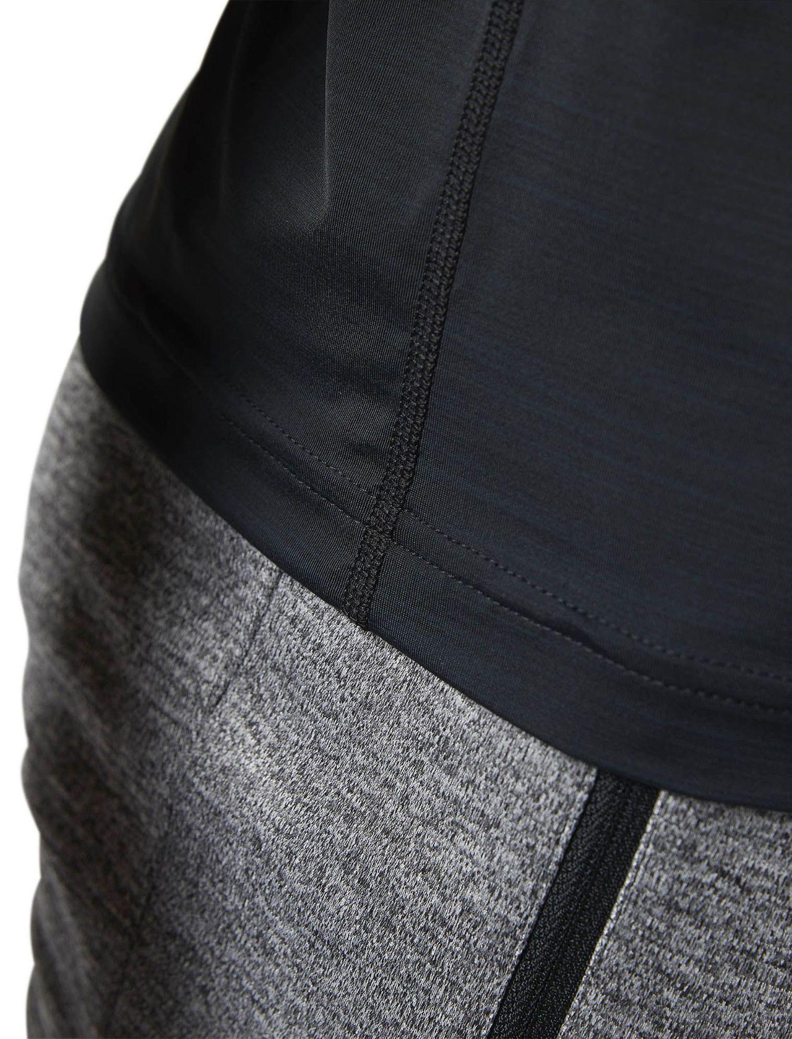 تی شرت ورزشی یقه گرد مردانه ACTIVCHILL - ریباک - مشکي - 4
