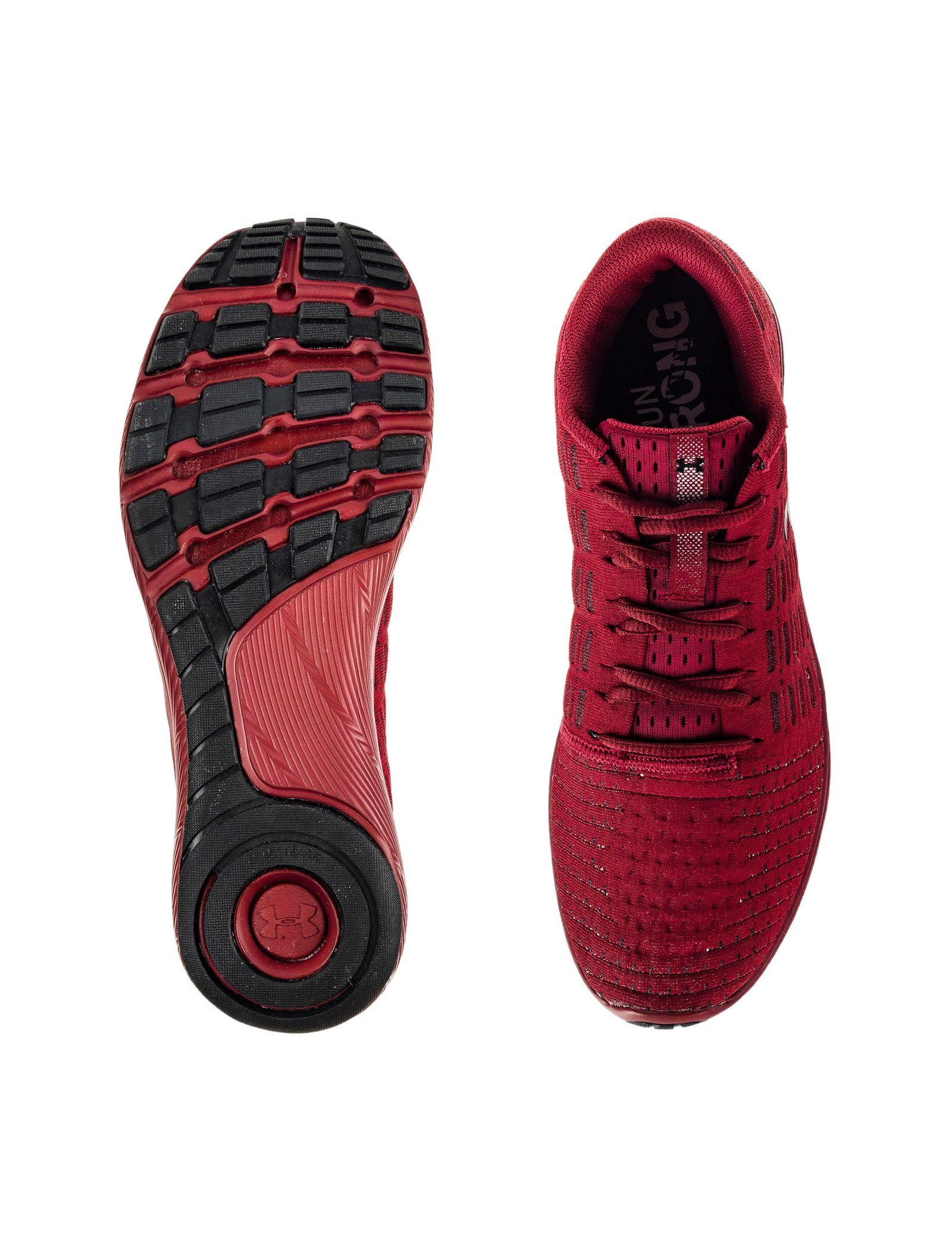 کفش دویدن بندی مردانه Threadborne Slingflex - آندر آرمور - زرشکي - 6