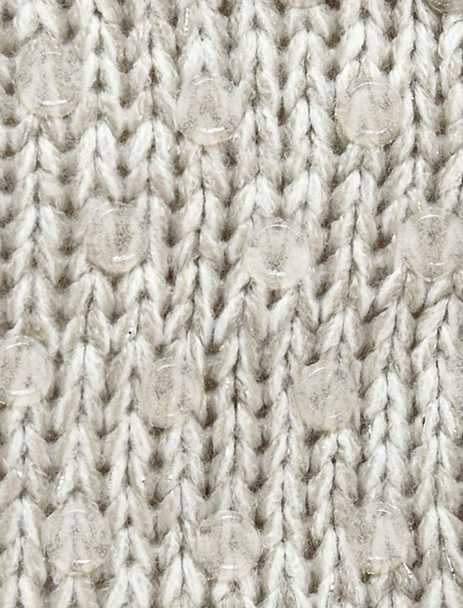 جوراب طرح دار دخترانه - بلوزو - طوسي - 3