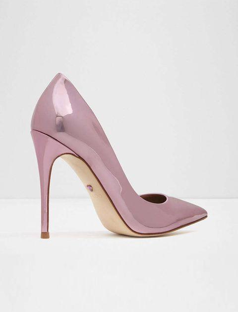 کفش پاشنه بلند زنانه - آلدو - رزگلد - 2