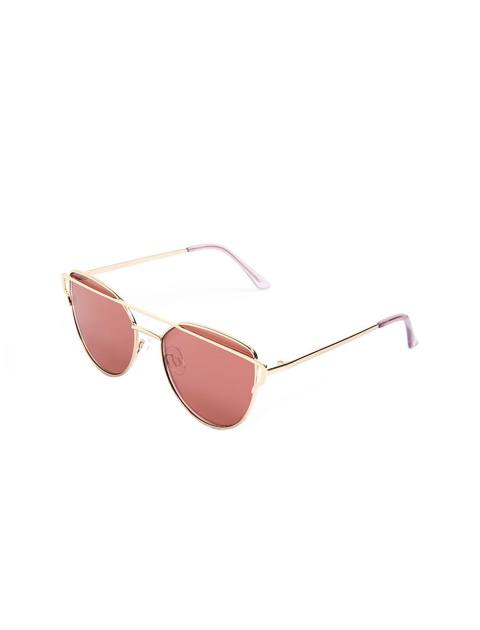 عینک آفتابی گربه ای زنانه - طلايي - 1