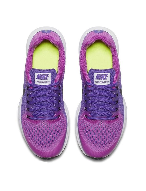 کفش دویدن بندی بچگانه  ZOOM PEGASUS 34 - نایکی