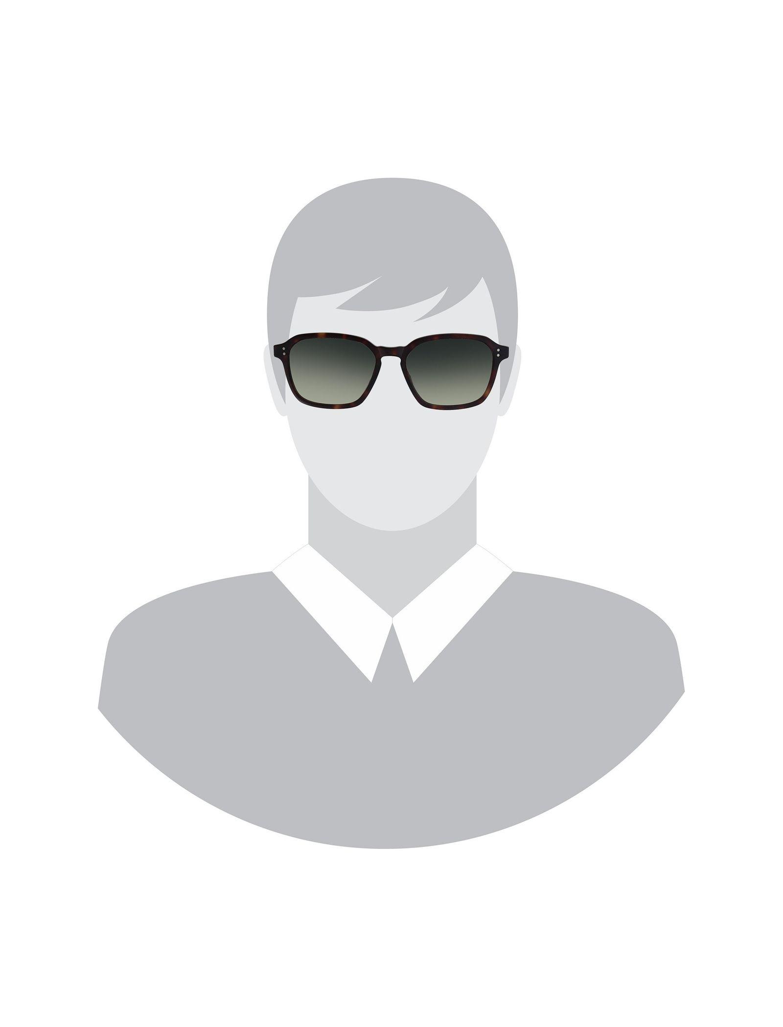 عینک آفتابی ویفرر مردانه - هکت - قهوه اي       - 4