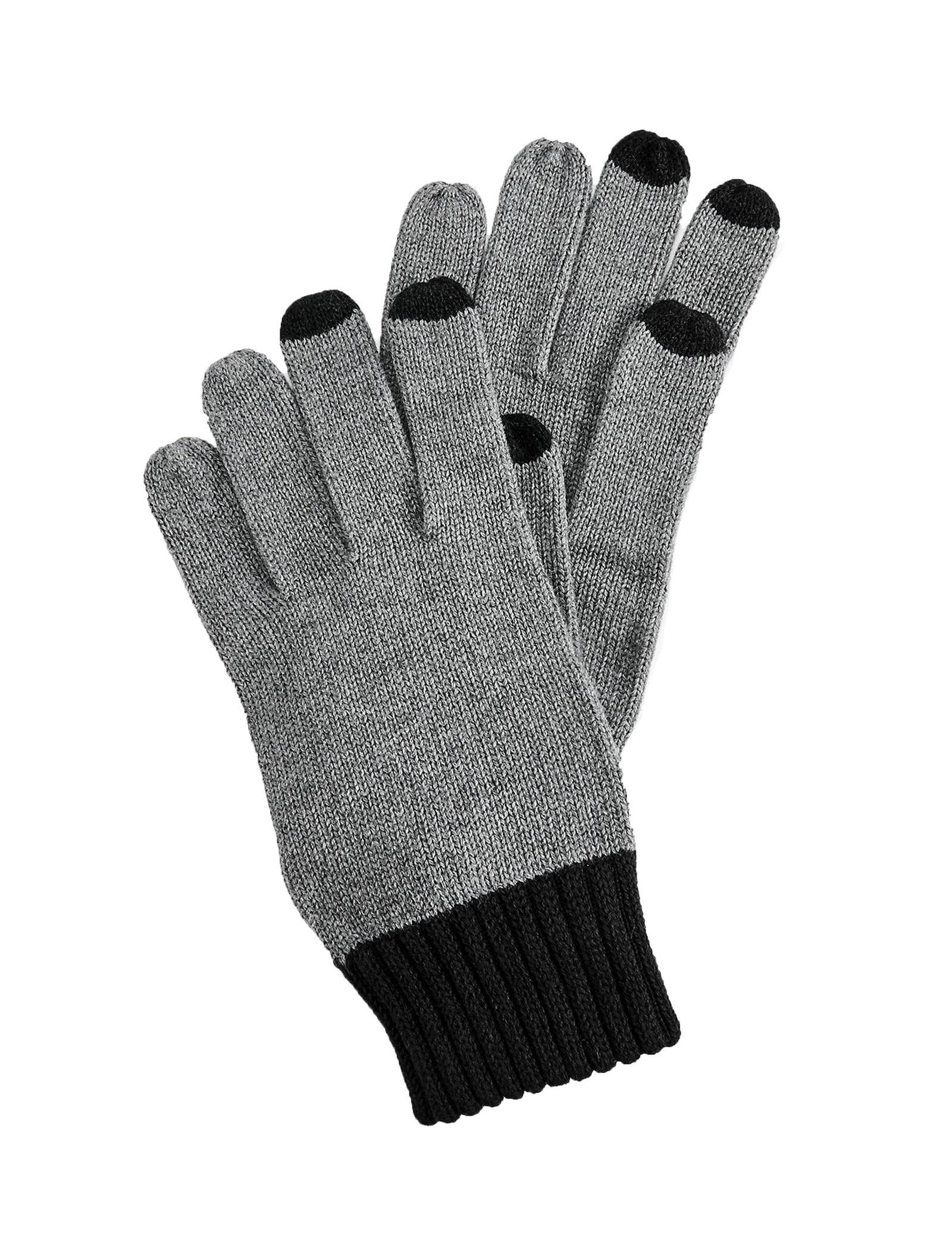 دستکش نخی ساق بلند مردانه - اس.اولیور - طوسي - 1