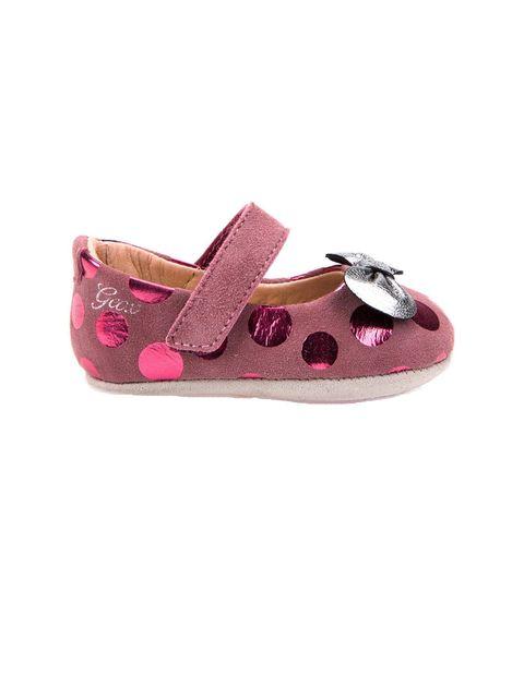 کفش چسبی نوزادی دخترانه B New Ian Girl - بنفش - 1
