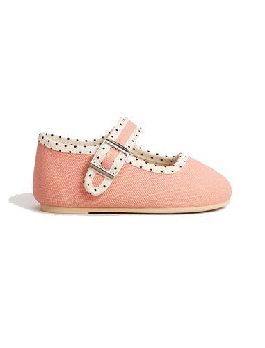 کفش چسبی نوزادی دخترانه - مانگو