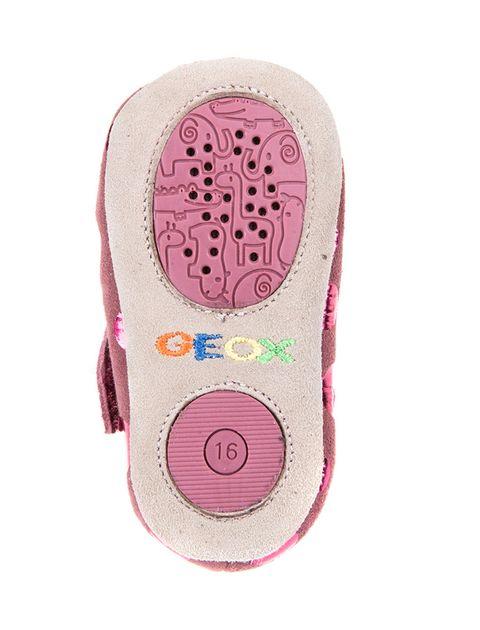 کفش چسبی نوزادی دخترانه B New Ian Girl - بنفش - 3