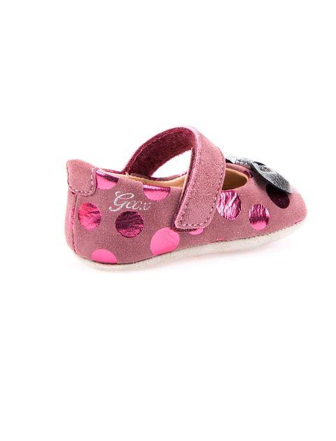 کفش چسبی نوزادی دخترانه B New Ian Girl - بنفش - 4