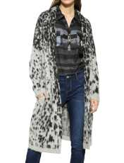 رویه طرح دار زنانه Leopard - دزیگوال - طوسي - 1