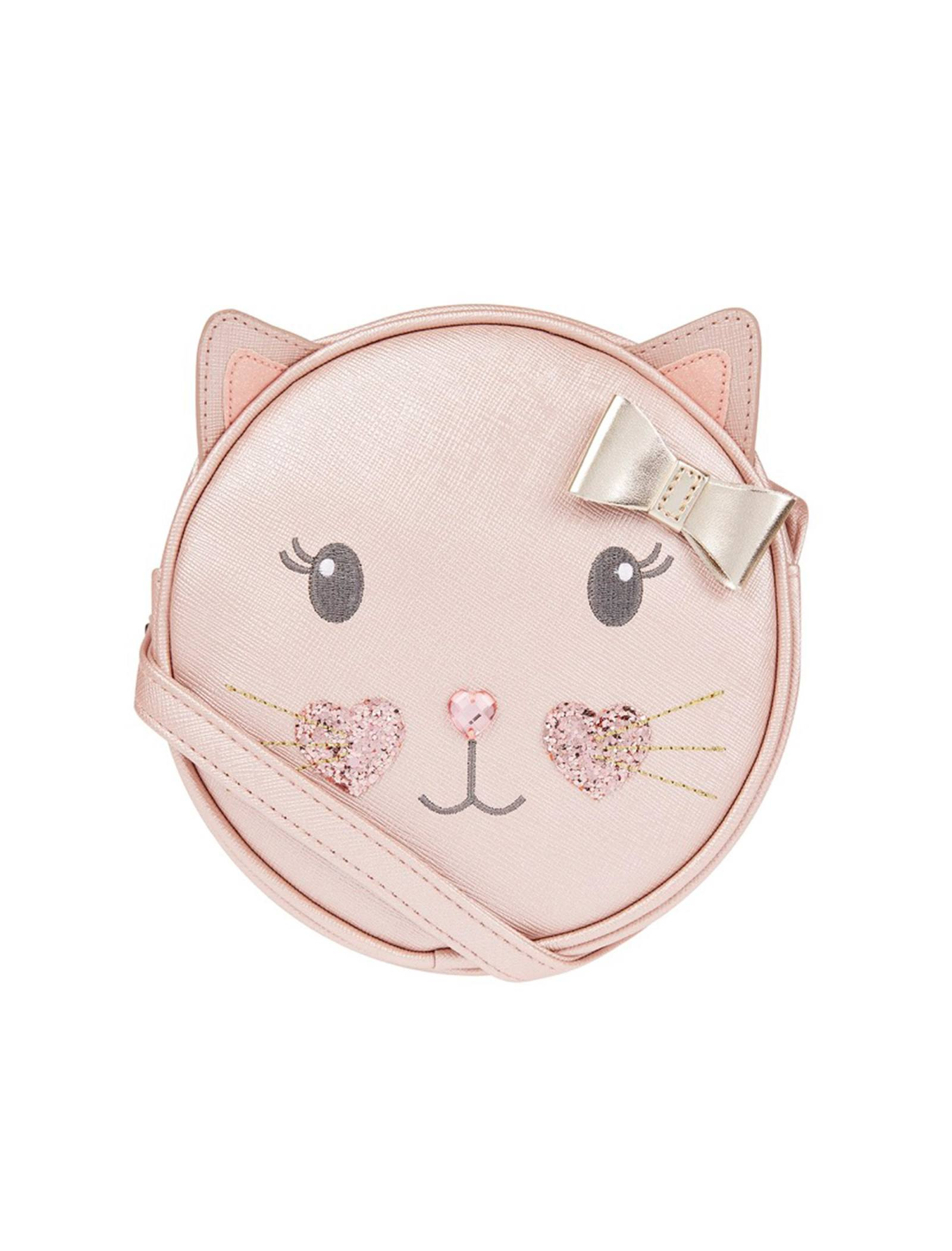 کیف دوشی دخترانه Pretty Kitty Cat - اکسسوریز - صورتي - 1