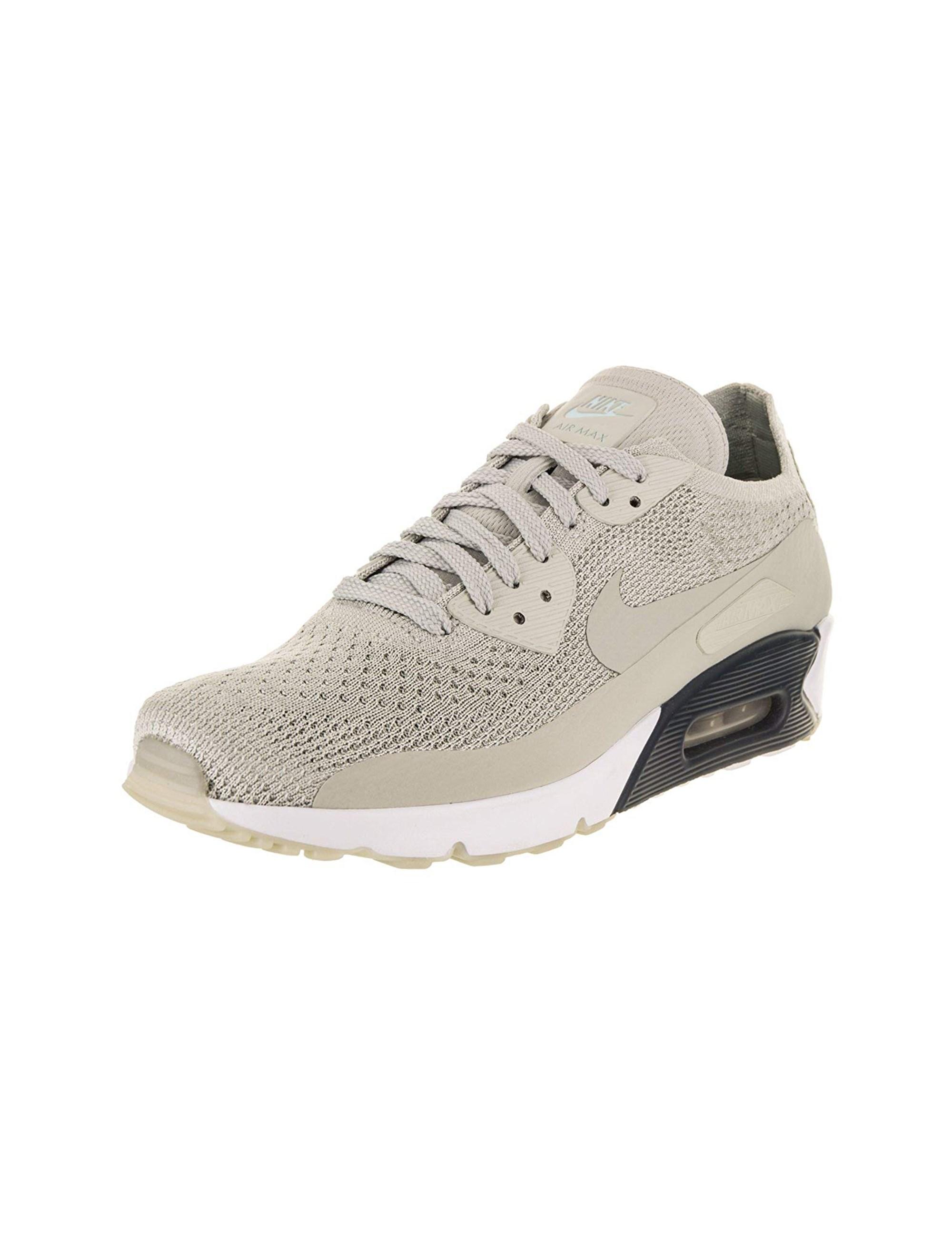 کفش دویدن بندی مردانه Air Max 90 Ultra 2-0 Flyknit - طوسي - 2