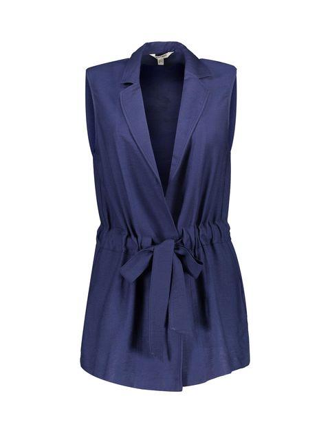 رویه لباس ویسکوز ساده زنانه - سرمه اي  - 1