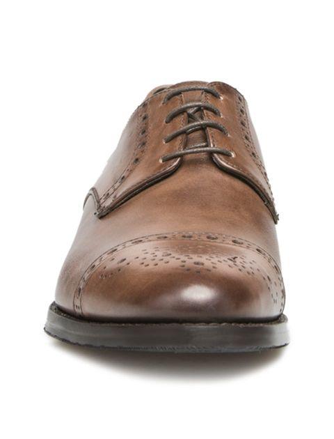کفش رسمی چرم مردانه Alfonso - قهوه اي - 3