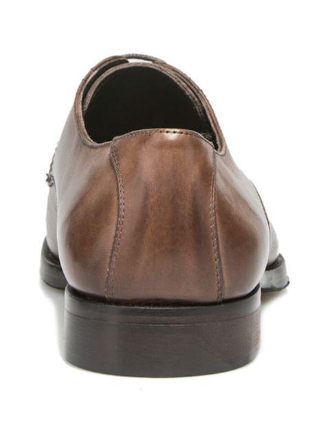 کفش رسمی چرم مردانه Alfonso - قهوه اي - 4