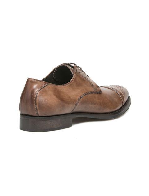کفش رسمی چرم مردانه Alfonso - قهوه اي - 6