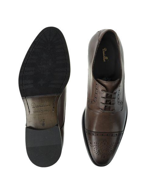 کفش رسمی چرم مردانه Alfonso - قهوه اي - 7