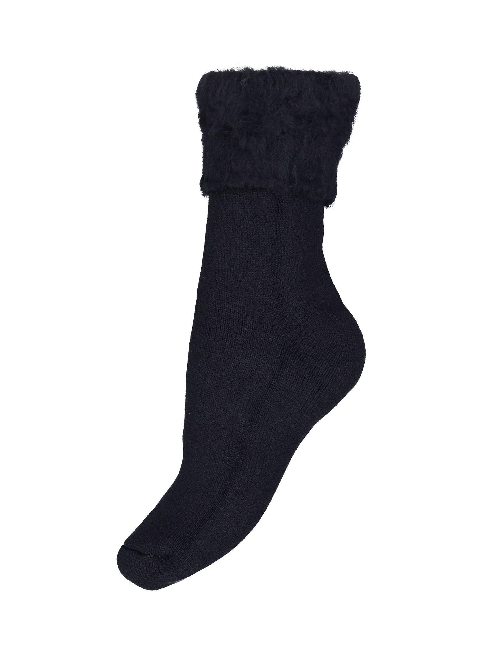 جوراب ساق متوسط زنانه - دفکتو - سرمه اي - 2