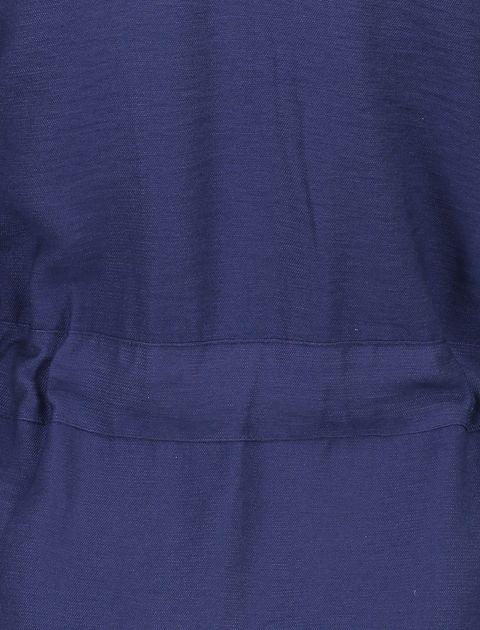 رویه لباس ویسکوز ساده زنانه - سرمه اي  - 7