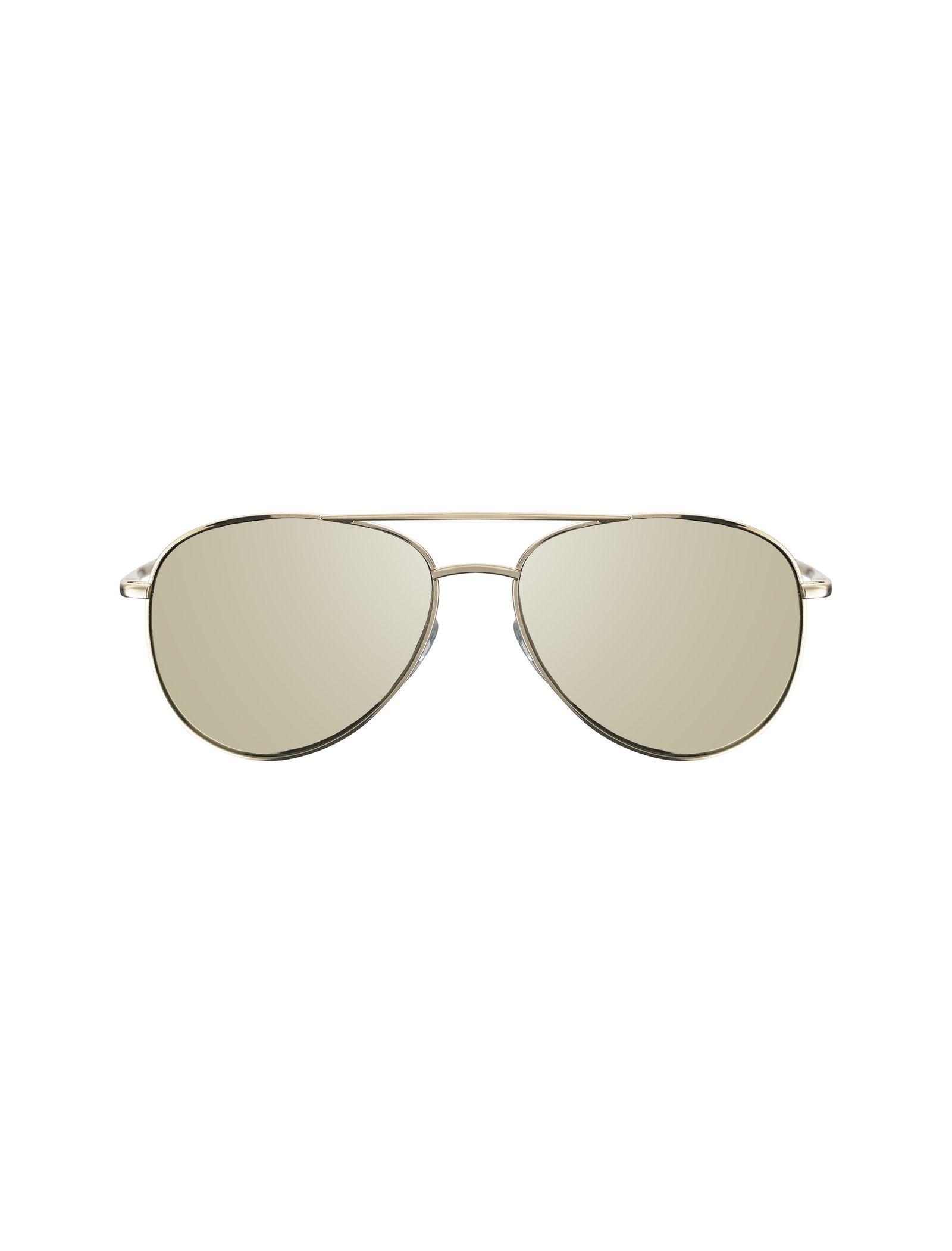 عینک آفتابی خلبانی زنانه - تد بیکر - طلايي    - 1
