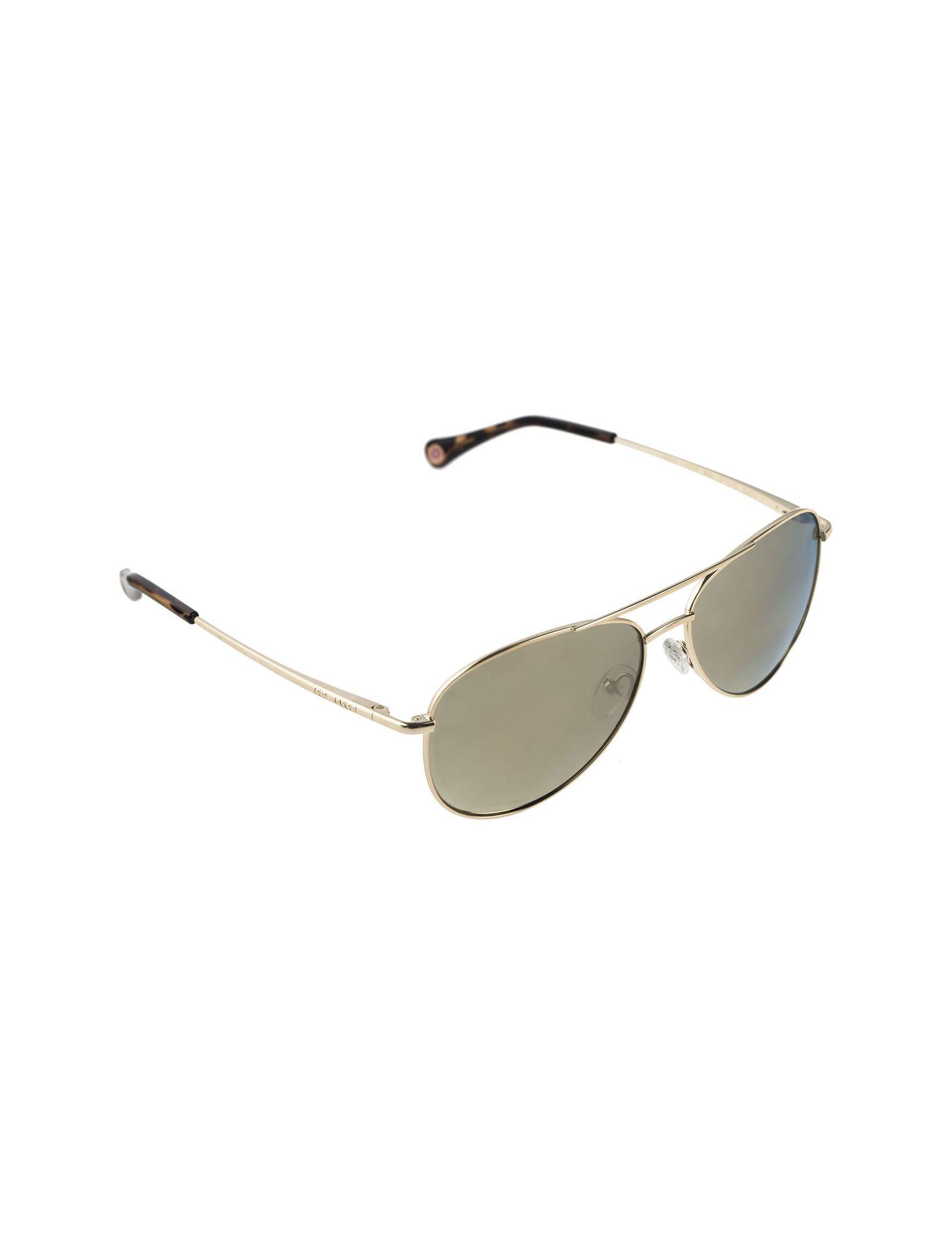 عینک آفتابی خلبانی زنانه - تد بیکر - طلايي    - 2