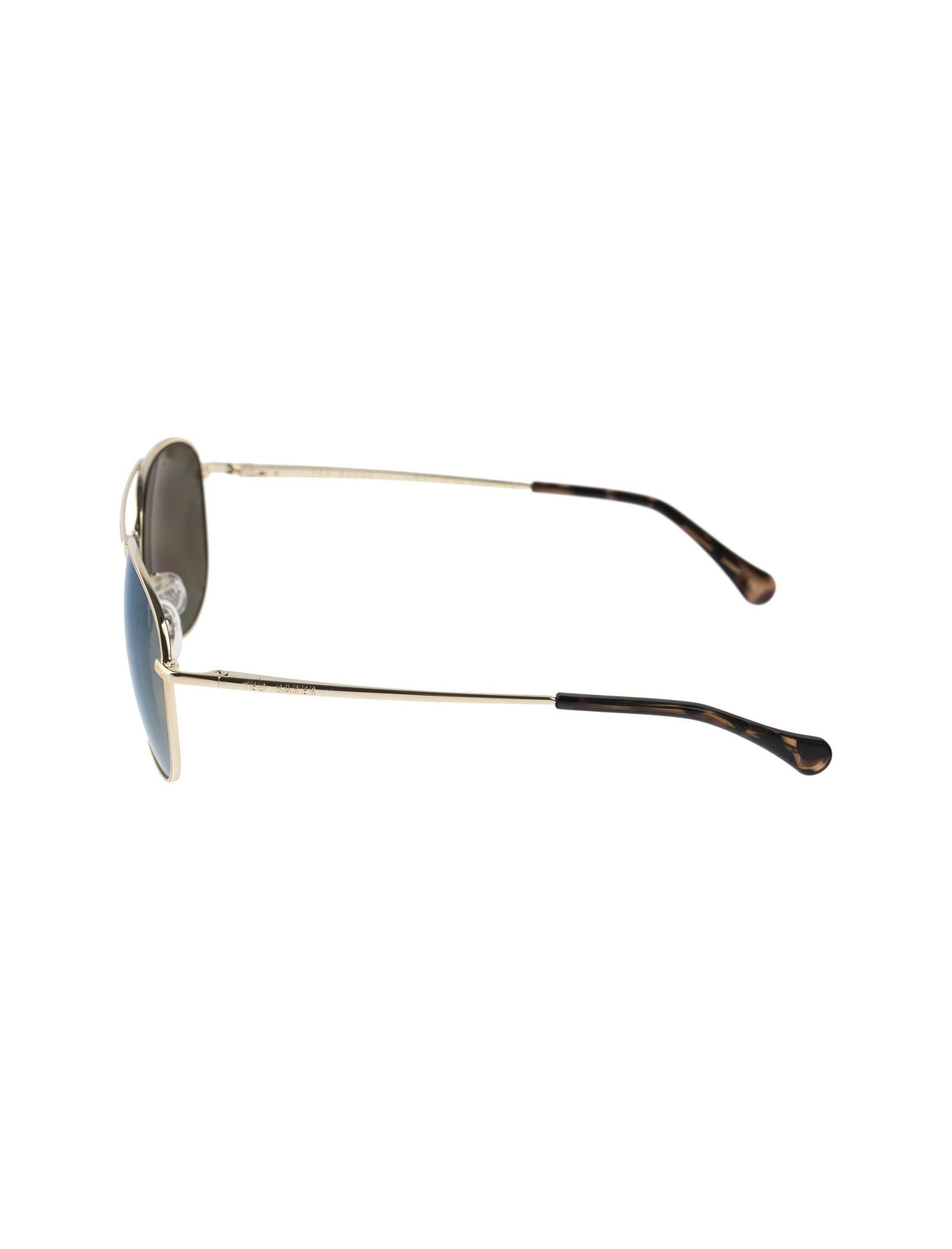 عینک آفتابی خلبانی زنانه - تد بیکر - طلايي    - 3