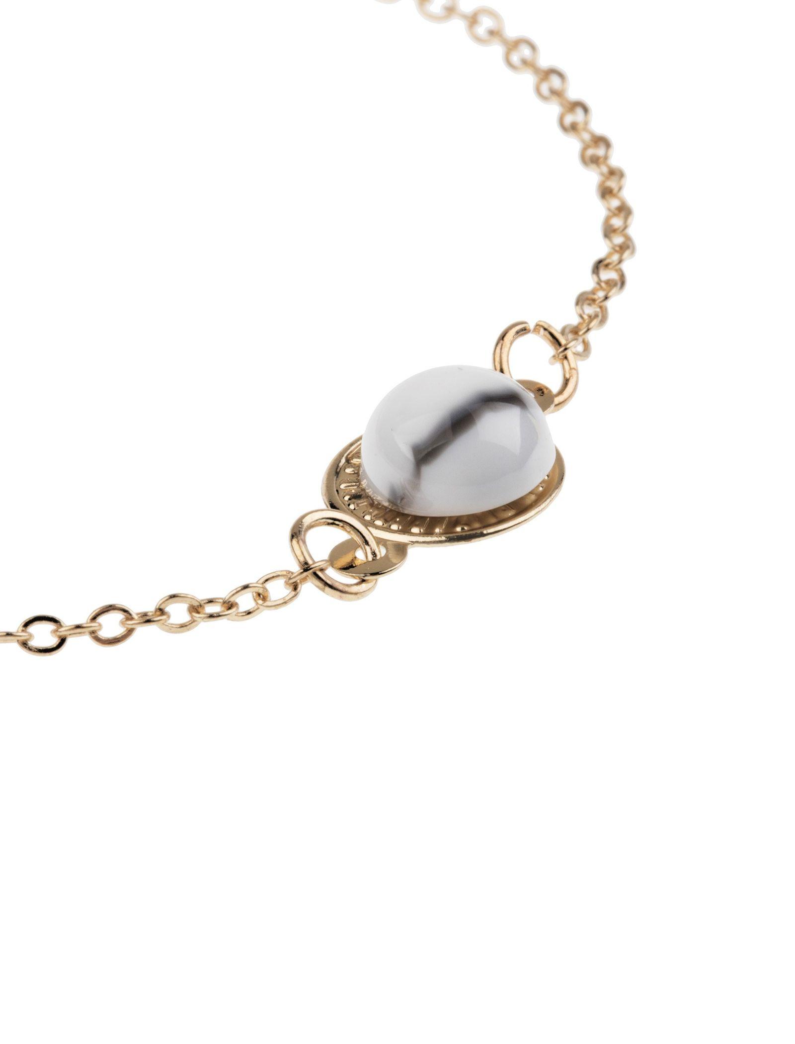 دستبند زنانه بسته 3 عددی - کوتون - طلايي/ طوسي - 4