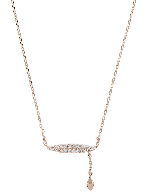 گردنبند برنجی آویز زنانه Cara Bar - اکسسوریز تک سایز