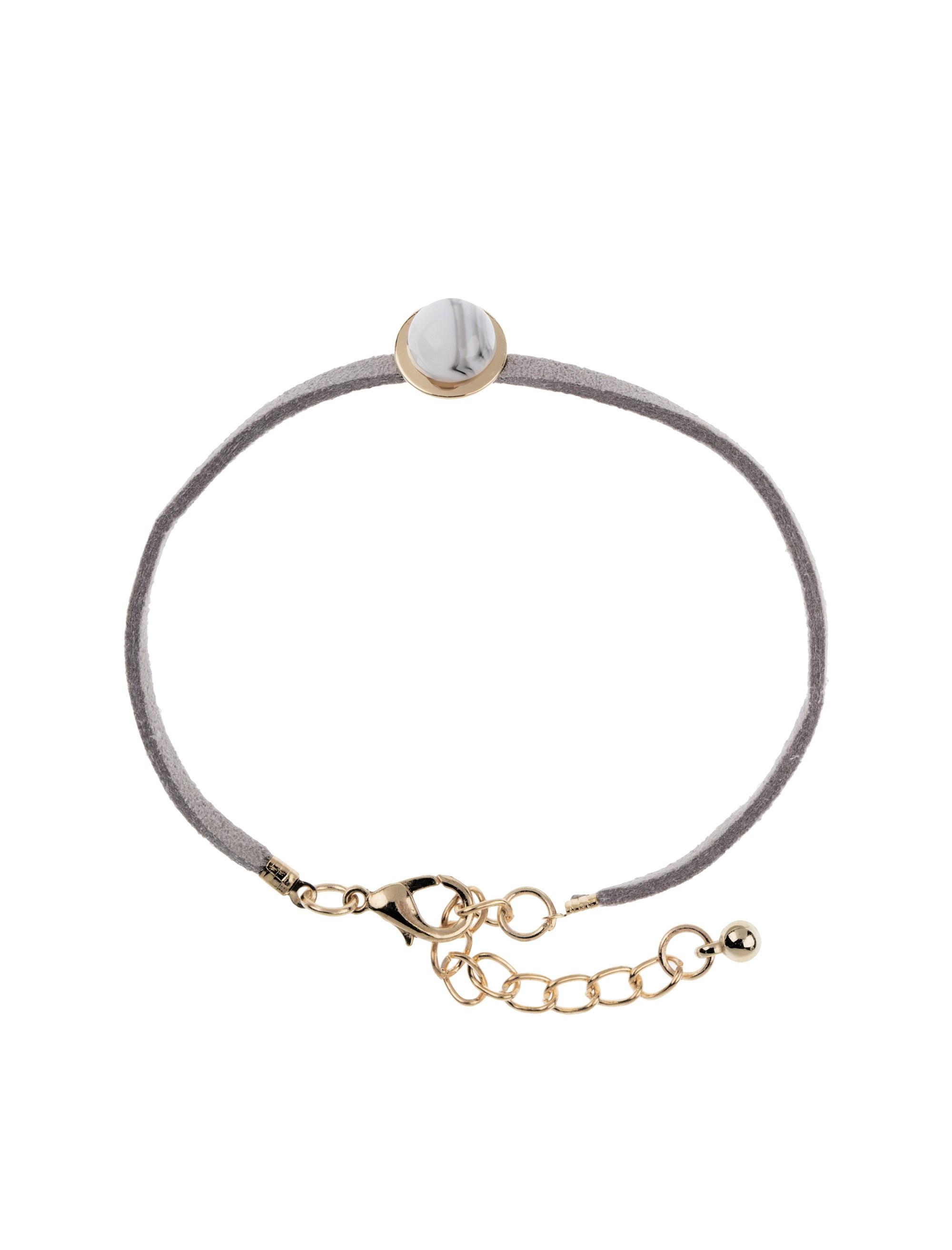 دستبند زنانه بسته 3 عددی - کوتون - طلايي/ طوسي - 7