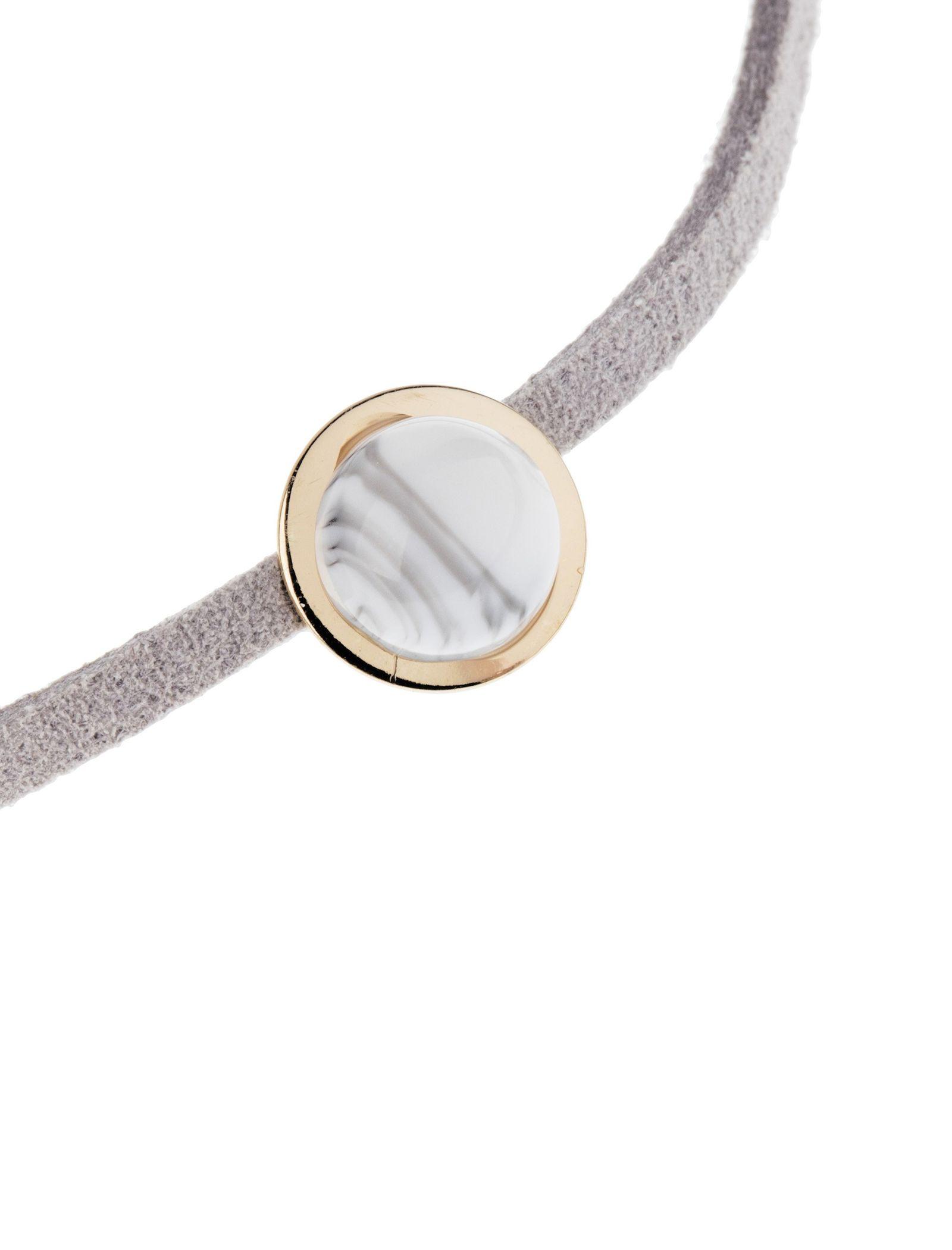 دستبند زنانه بسته 3 عددی - کوتون - طلايي/ طوسي - 8