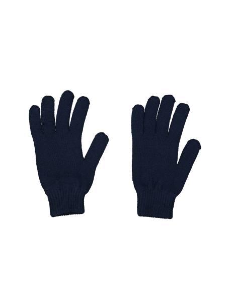دستکش بافت بزرگسال - سرمه اي - 2