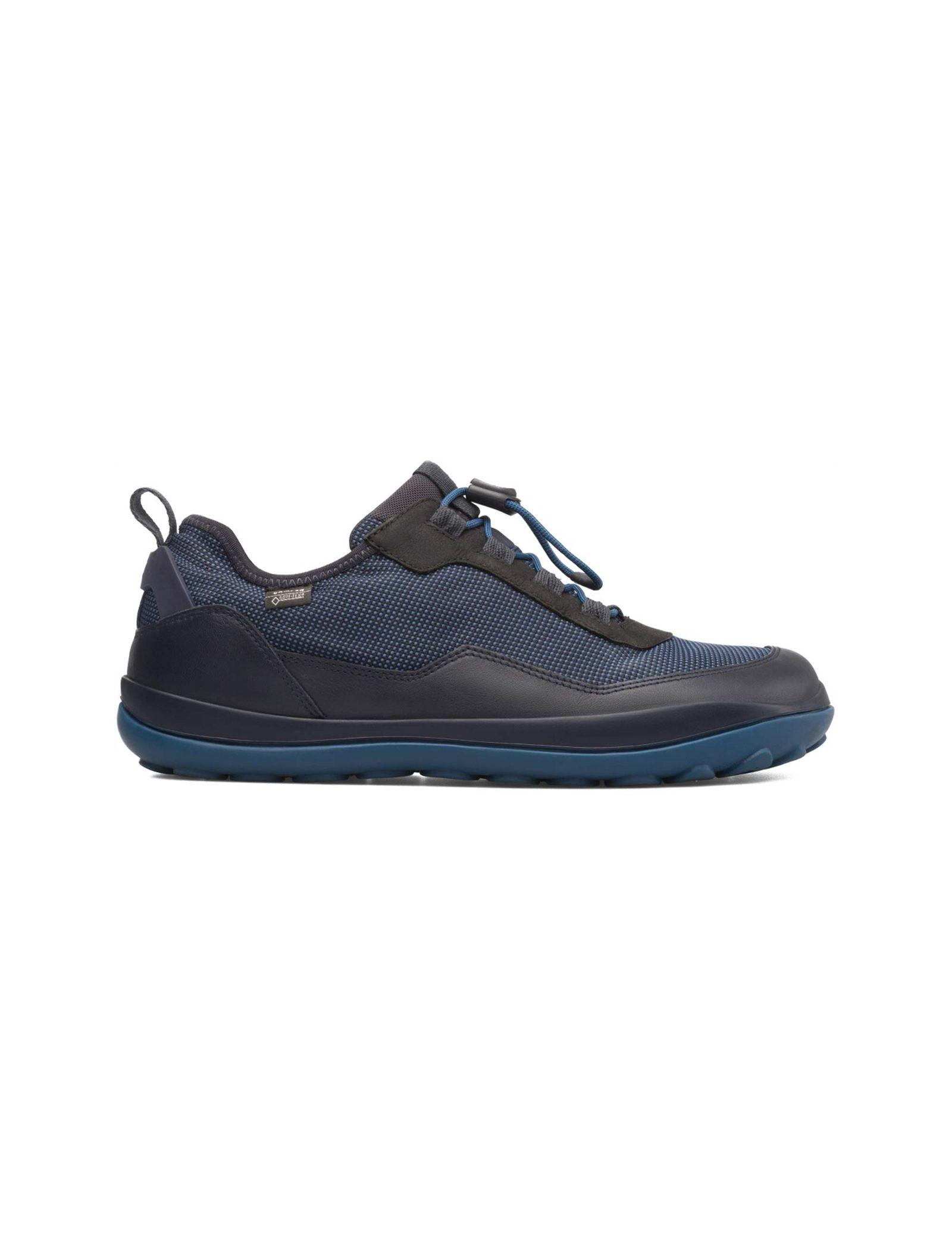کفش طبیعت گردی بندی مردانه - کمپر - مشکي و سرمه اي - 1