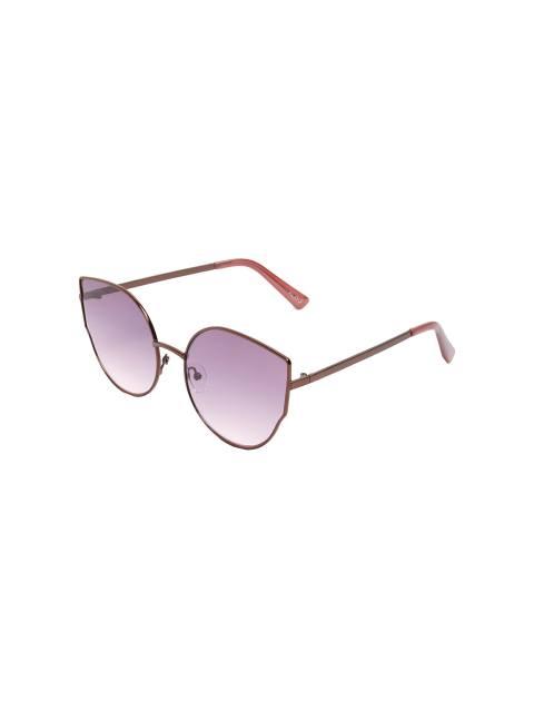 عینک آفتابی گربه ای زنانه - بنفش - 1