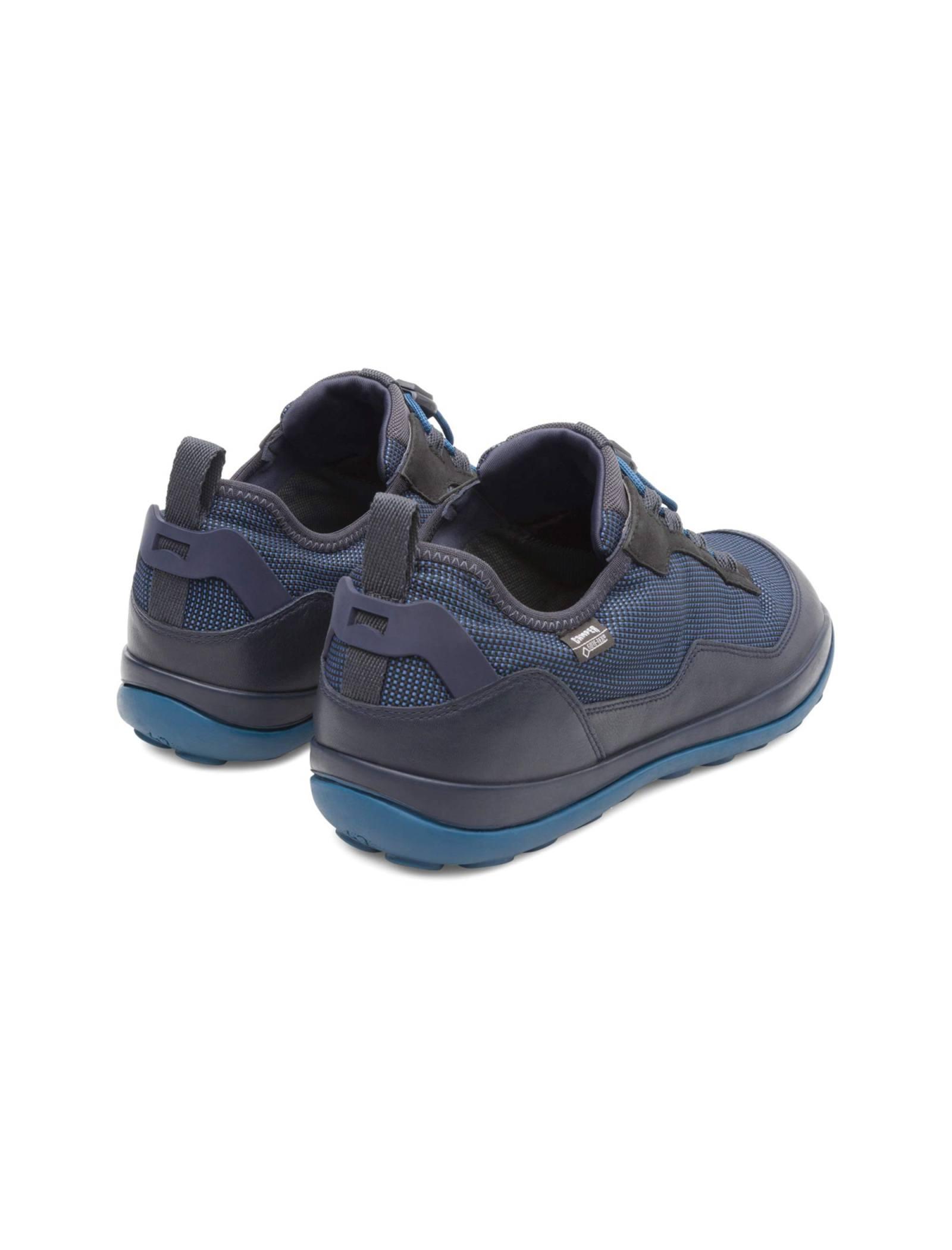 کفش طبیعت گردی بندی مردانه - کمپر - مشکي و سرمه اي - 5